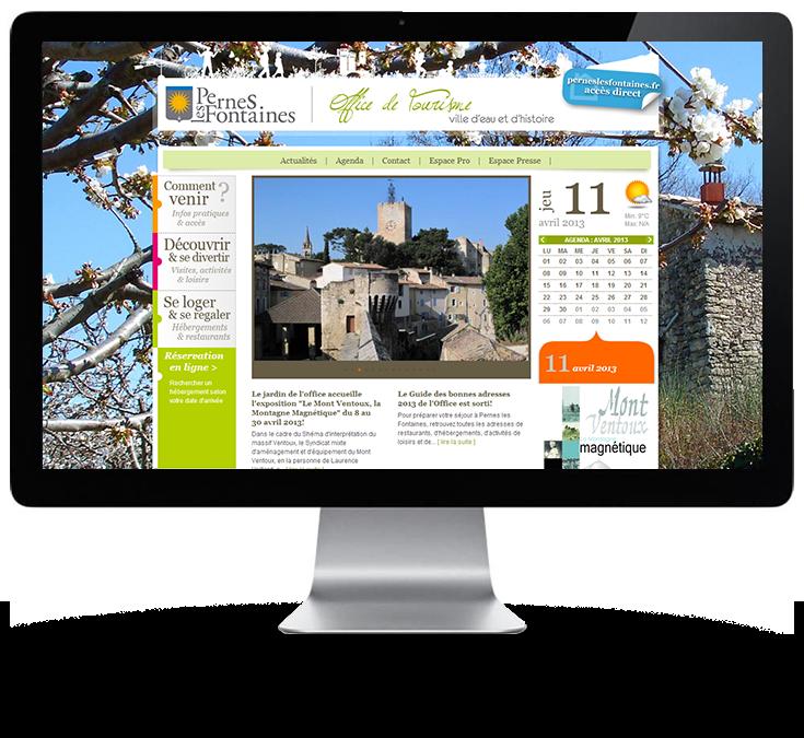 Site web d 39 office de tourisme pernes les fontaines - Pernes les fontaines office de tourisme ...