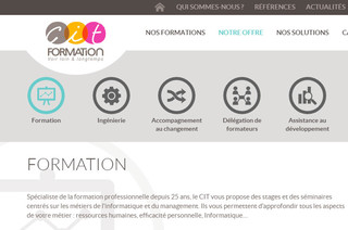 CIT, Formation Informatique & Management à Avignon